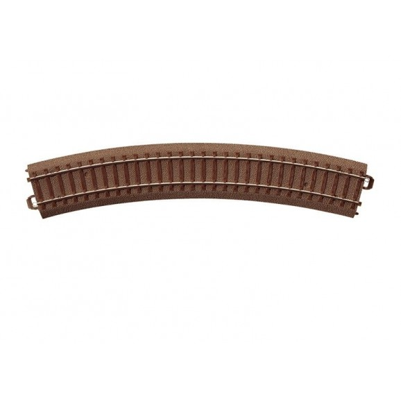 Trix - 62230 - Trix Curved C-Track 437.5 mm Curved Track (HO Scale)