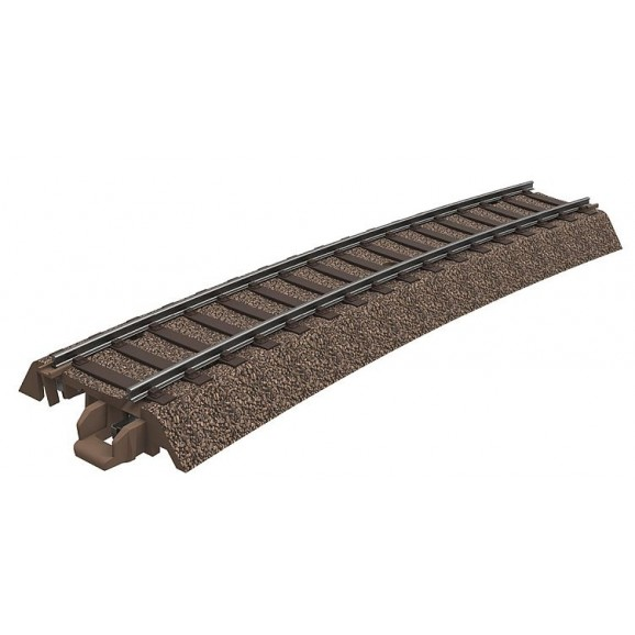 Trix - 62315 - Curved track 515mm Curved Track (HO Scale)