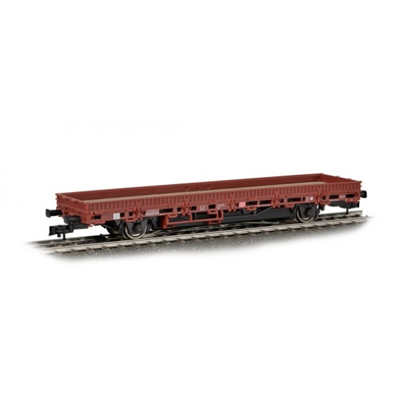 VIESSMANN - 2311 - H0 Low Side Wagon with Driving unit braun 3L