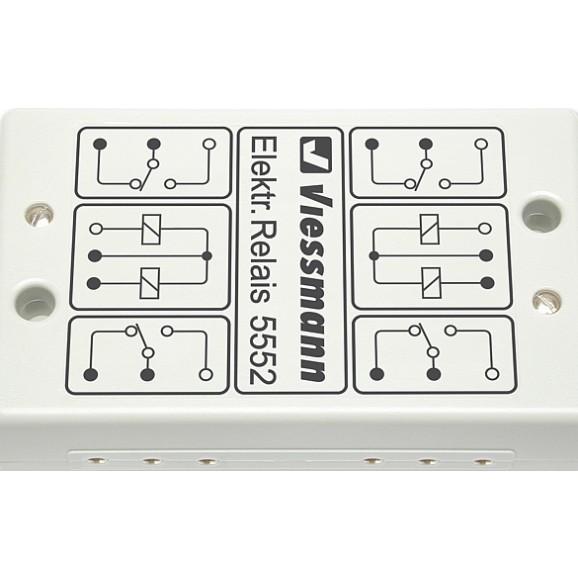 VIESSMANN - 5552 - Electronic relay 2 x 2UM