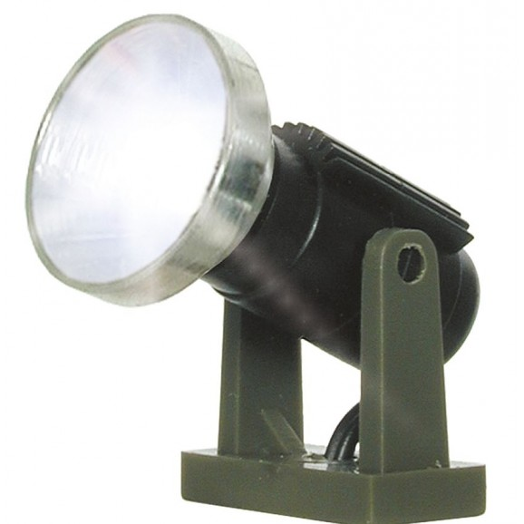 Viessmann - 6530 - N Floodlight spot low, LED white