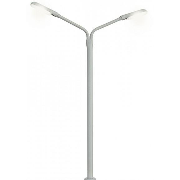 Viessmann - 6995 - TT Whip street light double, 2 LEDs white