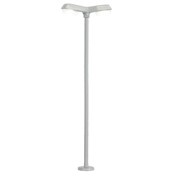 Viessmann - 6498 - N Street light modern, double, 2 LEDs white