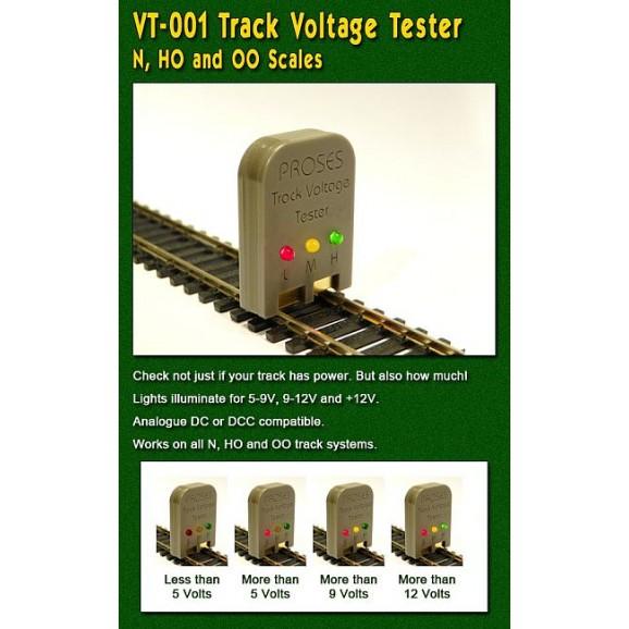 PROSES - VT-001 - Track Voltage Tester