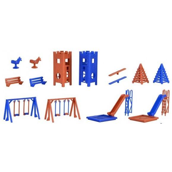 Vollmer - 43665 - H0 Deco-set Playground