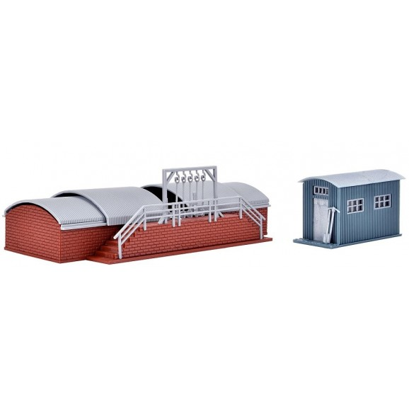 Vollmer - 45771 - H0 Sand bunker with quonset hut