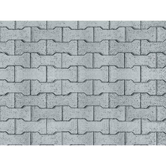 Vollmer - 46054 - H0 Street plate concrete stone of cardboard,25 x 12,5 cm
