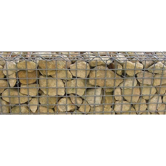VOLLMER - 46057 - H0 Wall plate gabionen of cardboard, 25 x 12,5 cm