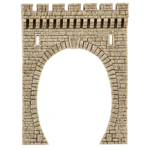 Vollmer - 48600 - N Tunnel portal of Stone Art, single track