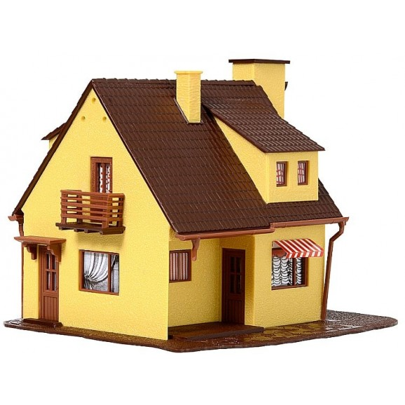 VOLLMER - 49217 - H0 House, start and save money (HO SCALE)